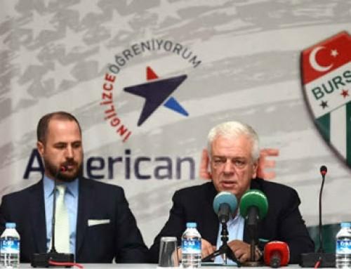 American Life Bursaspora sponsor oldu